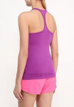 Майка Спортивная Nike                                                                                                              фиолетовый цвет