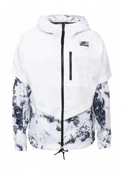 Ветровка Nike                                                                                                              белый цвет