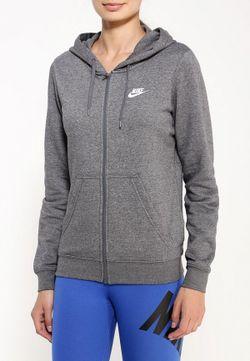 Толстовка Nike                                                                                                              серый цвет