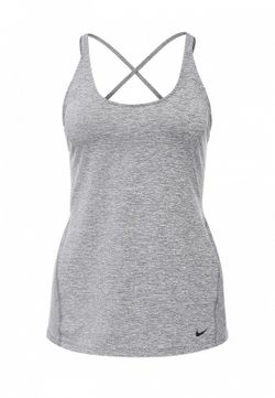 Майка Спортивная Nike                                                                                                              серый цвет
