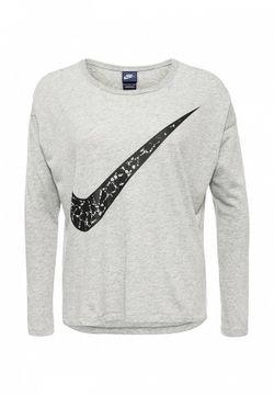 Лонгслив Nike                                                                                                              серый цвет