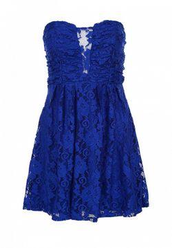 Платье Nly                                                                                                              синий цвет