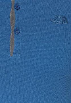 Поло North Face                                                                                                              синий цвет