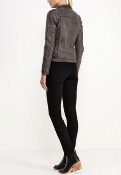 Куртка Кожаная Oakwood                                                                                                              серый цвет