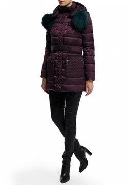 Пуховик Odri                                                                                                              фиолетовый цвет