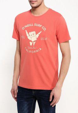 Футболка O`Neill                                                                                                              розовый цвет
