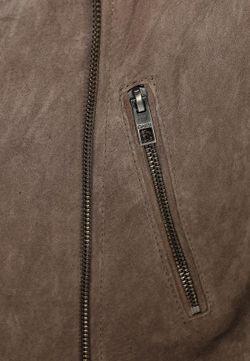 Куртка Кожаная Only                                                                                                              серый цвет
