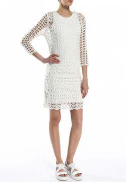 Платье Only                                                                                                              белый цвет