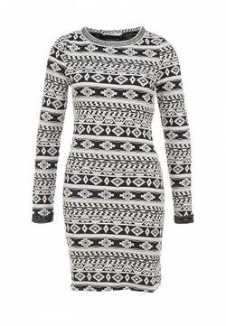 Платье Only                                                                                                              серый цвет