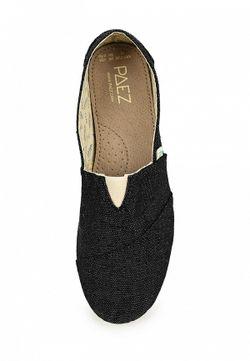 Слипоны Paez                                                                                                              черный цвет