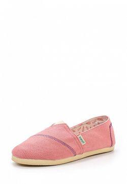 Слипоны Paez                                                                                                              розовый цвет