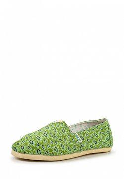 Слипоны Paez                                                                                                              зелёный цвет