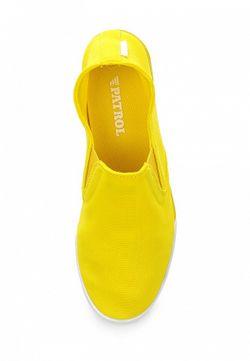 Слипоны Patrol                                                                                                              желтый цвет