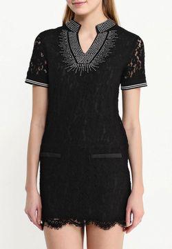 Платье Paccio                                                                                                              черный цвет