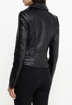 Куртка Кожаная Patrizia Pepe                                                                                                              черный цвет