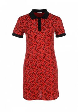 Платье People                                                                                                              красный цвет