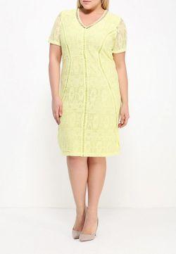 Платье Persona by Marina Rinaldi                                                                                                              желтый цвет