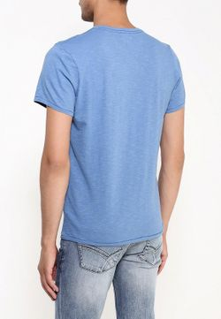 Футболка Pepe Jeans                                                                                                              голубой цвет