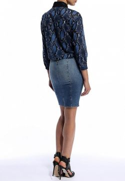 Блуза Pinko                                                                                                              синий цвет