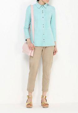 Рубашка Pinko                                                                                                              голубой цвет