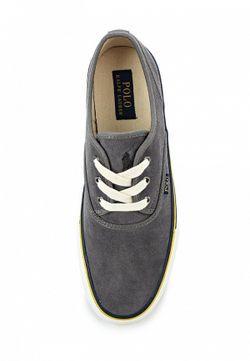 Кеды Polo Ralph Lauren                                                                                                              серый цвет