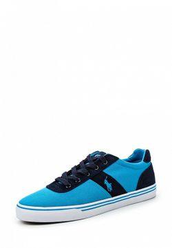 Кеды Polo Ralph Lauren                                                                                                              синий цвет