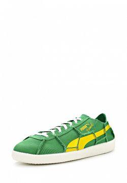 Кеды Puma                                                                                                              зелёный цвет