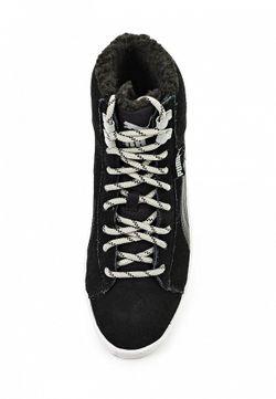 Кеды Puma                                                                                                              черный цвет
