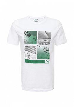 Футболка Puma                                                                                                              белый цвет