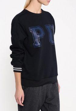 Свитшот Puma                                                                                                              черный цвет