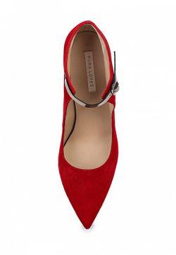 Туфли Pura Lopez Pura López                                                                                                              красный цвет