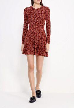 Платье Qed London                                                                                                              оранжевый цвет