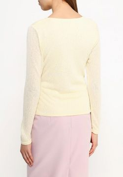 Пуловер Qed London                                                                                                              желтый цвет