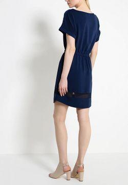 Платье s.Oliver Denim                                                                                                              синий цвет