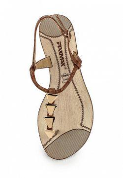 Сандалии Raxmax                                                                                                              коричневый цвет