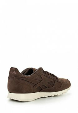 Кроссовки Reebok Classics                                                                                                              коричневый цвет