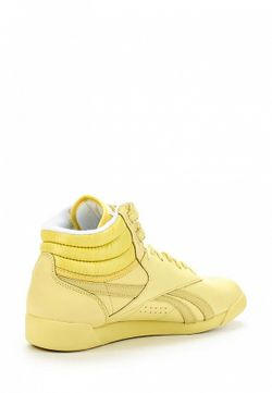 Кроссовки Reebok Classics                                                                                                              желтый цвет