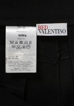 Бриджи Red Valentino                                                                                                              чёрный цвет