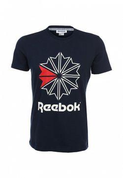Футболка Reebok Classics                                                                                                              синий цвет