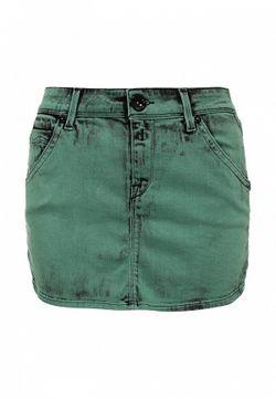 Юбка Replay                                                                                                              зелёный цвет