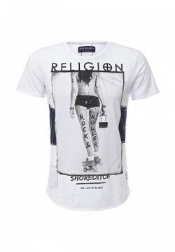 Футболка Religion                                                                                                              белый цвет