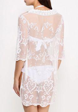 Платье Пляжное River Island                                                                                                              белый цвет