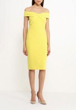Платье River Island                                                                                                              желтый цвет