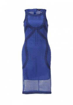 Платье River Island                                                                                                              синий цвет