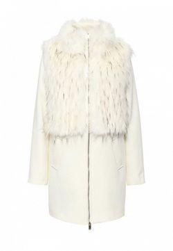 Пальто Rinascimento                                                                                                              белый цвет