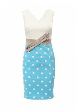Платье Rinascimento                                                                                                              голубой цвет