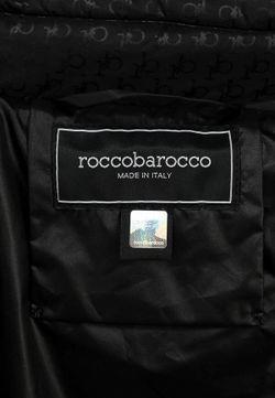 Куртка Утепленная Roccobarocco                                                                                                              чёрный цвет