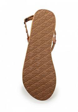 Сандалии Roxy                                                                                                              коричневый цвет