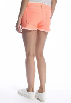 Шорты Джинсовые Roxy                                                                                                              оранжевый цвет