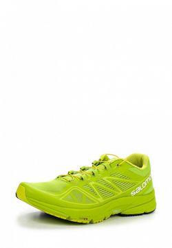 Кроссовки Salomon                                                                                                              зелёный цвет